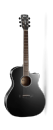 Cort GA5F BK Electro Acoustic Guitar in Black